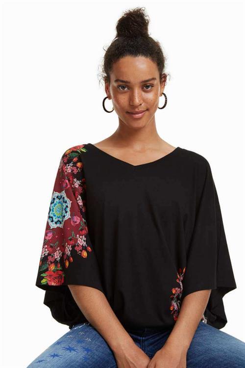 tričko Desigual Corina negro
