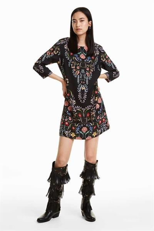 šaty Desigual Clementine negro