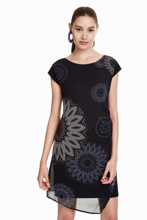 šaty Desigual Sandrini negro