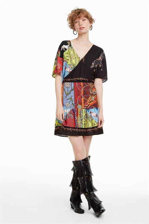 šaty Desigual Nanuk tutti fruti