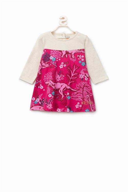 šaty Desigual Carlota fuchsia rose