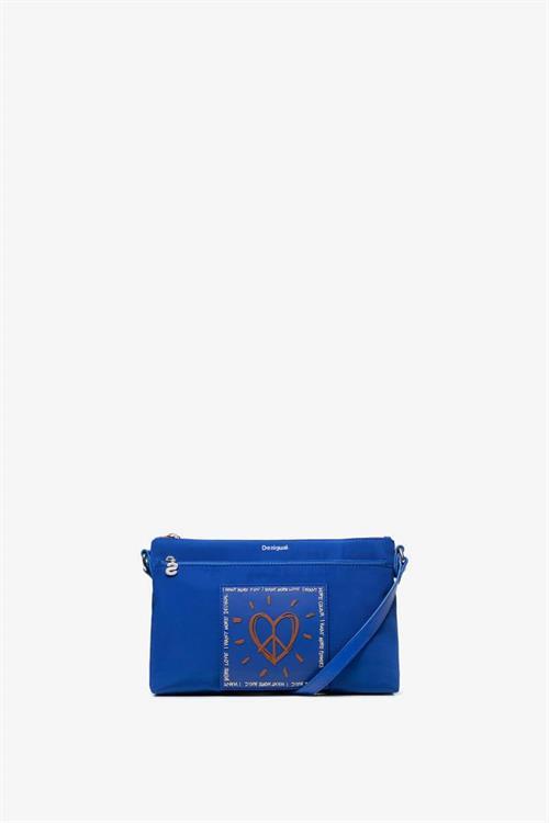 kabelka Desigual Rep Colors Durb azul klein