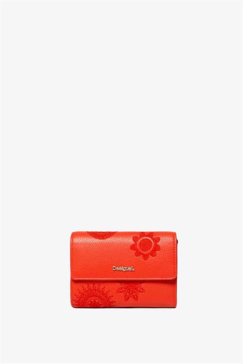 peněženka Desigual Amber Alba carmin