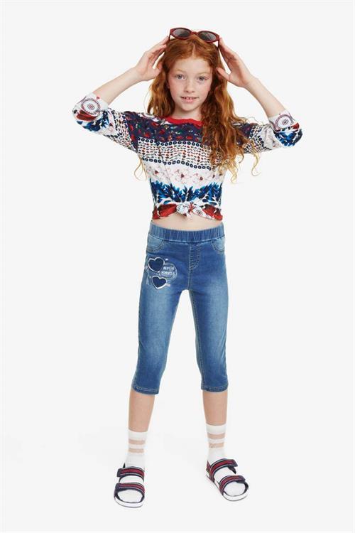 kalhoty Desigual Fernandez jeans