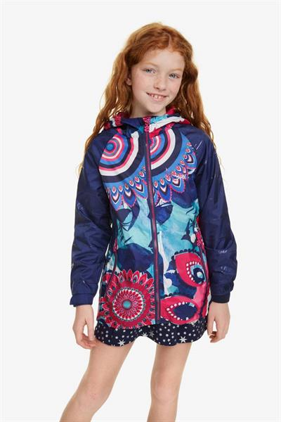 bunda Desigual Tunilla royal blue