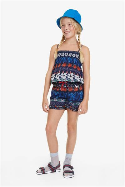 overal Desigual Ivory navy