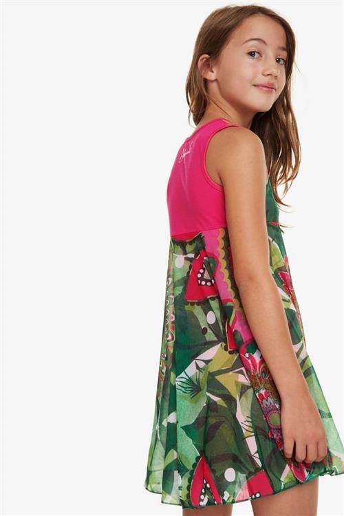 šaty Desigual Nuakchot verde kitting