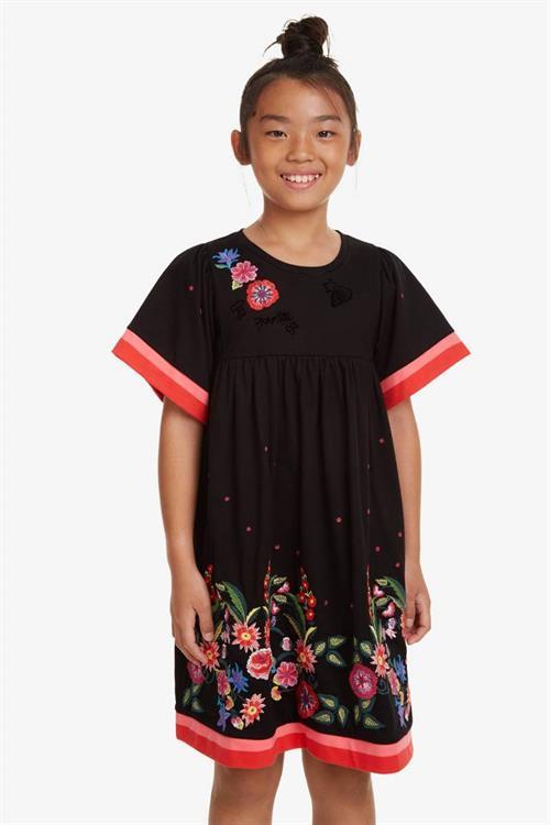 šaty Desigual Jacksonville negro