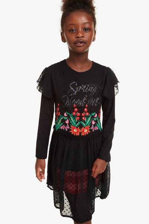 šaty Desigual Spring negro