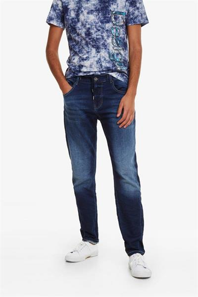 jeansy Desigual Blas denim medium wash