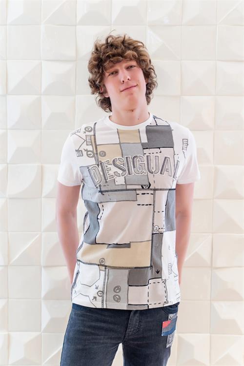 tričko Desigual Renato hueso
