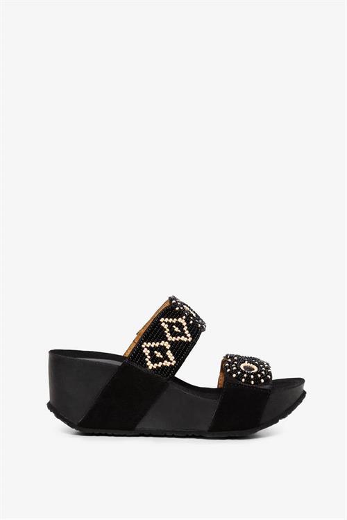 sandále Desigual Cycle Beads BN negro