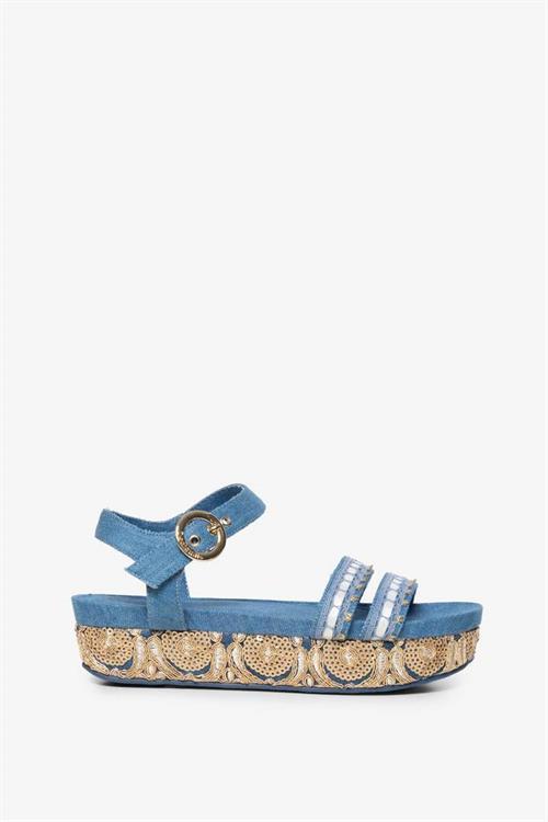 sandále Desigual Triumph Exotic june bug