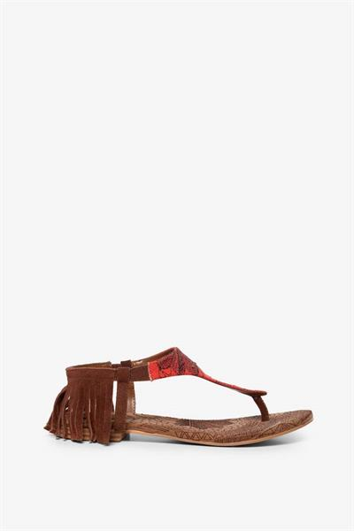 sandále Desigual Lupita Lottie azul tinta