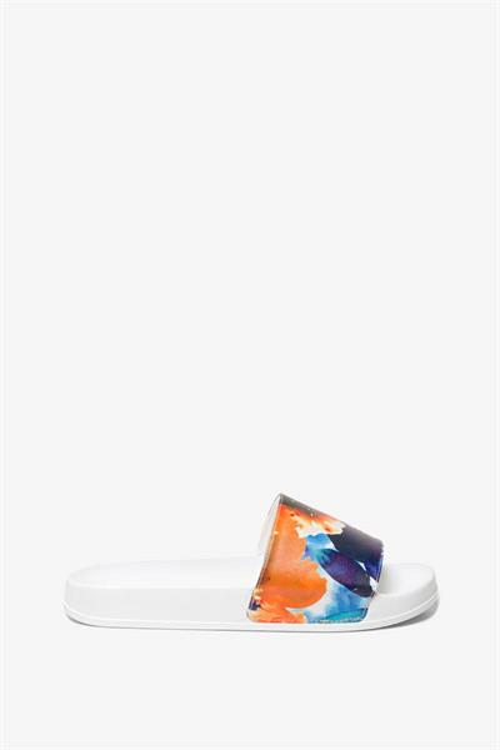 sandále Desigual Camoflower blanco