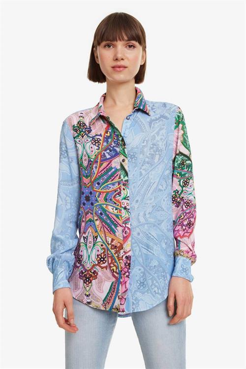 košile Desigual Clarie rosa vento