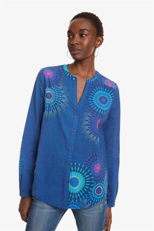košile Desigual Coraline marino