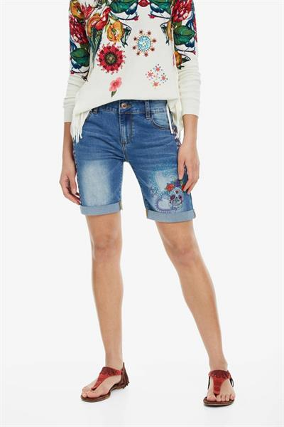 džínsy Desigual Catri denim medium light