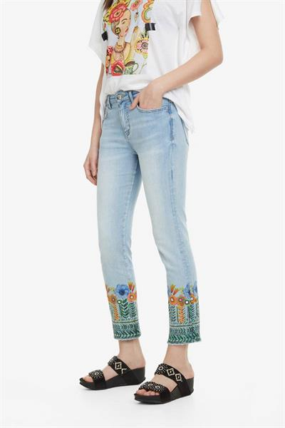 jeansy Desigual Copenhagen denim medium light