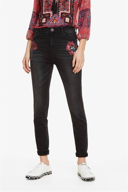 jeansy Desigual Atenas black denim
