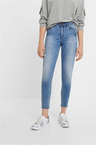 jeansy Desigual Alba denim light wash