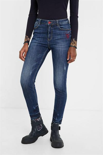 jeansy Desigual Alba denim medium wash