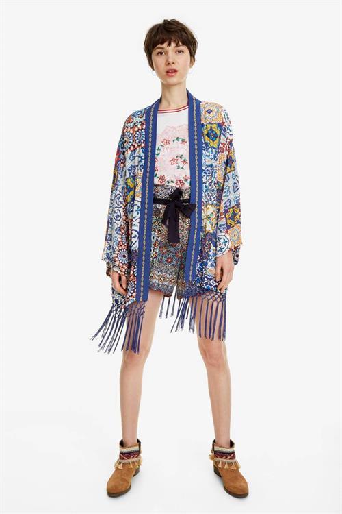 kimono Desigual Kimo navy
