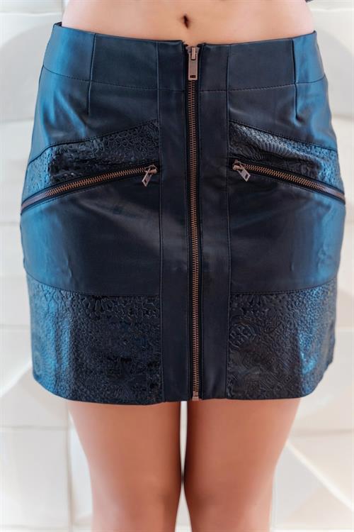 sukně Desigual Eva negro