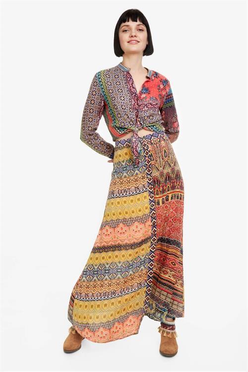 sukňa Desigual Felicity orangery