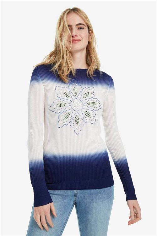 sveter Desigual Cristina star saphire