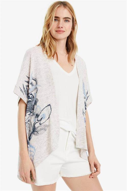 sveter Desigual Lorna blanco