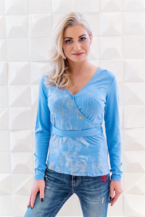 tričko Desigual Carla azul dali