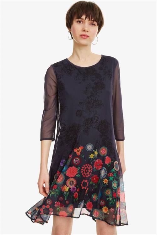 šaty Desigual Okonor navy