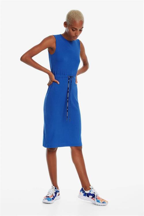 šaty Desigual Tigre azul niza