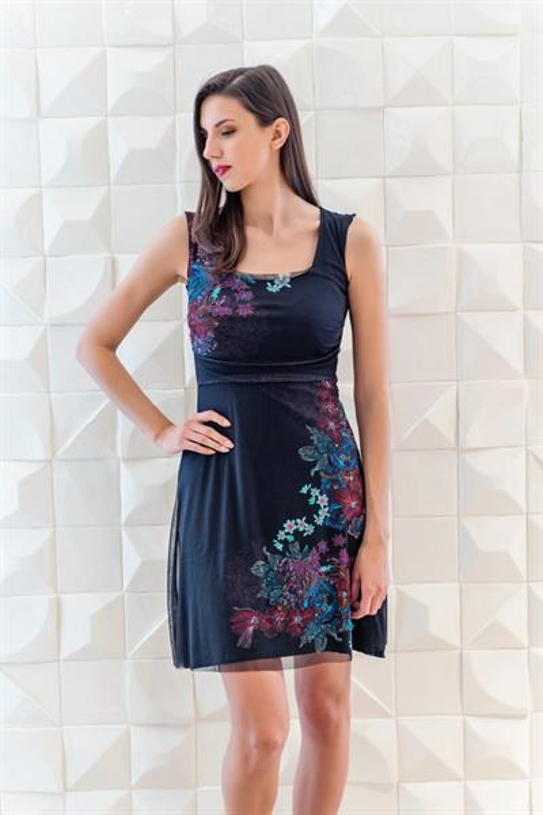 šaty Desigual Berta negro
