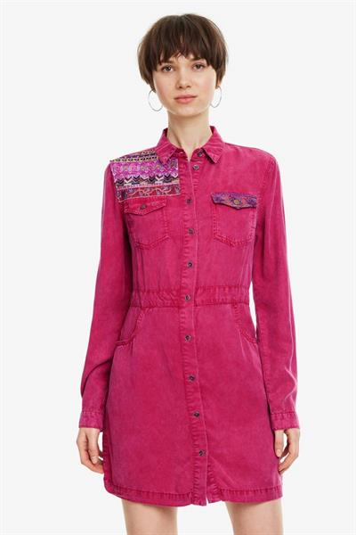 šaty Desigual Zagori lila