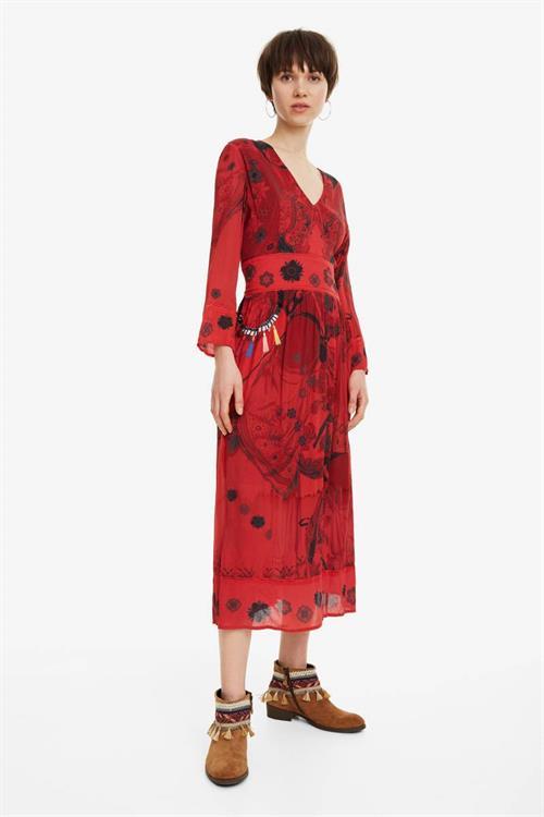 šaty Desigual Clam rosa palo