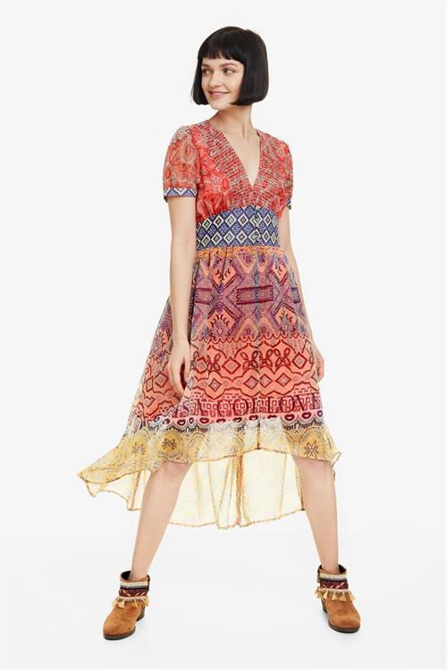 šaty Desigual Nana orangery
