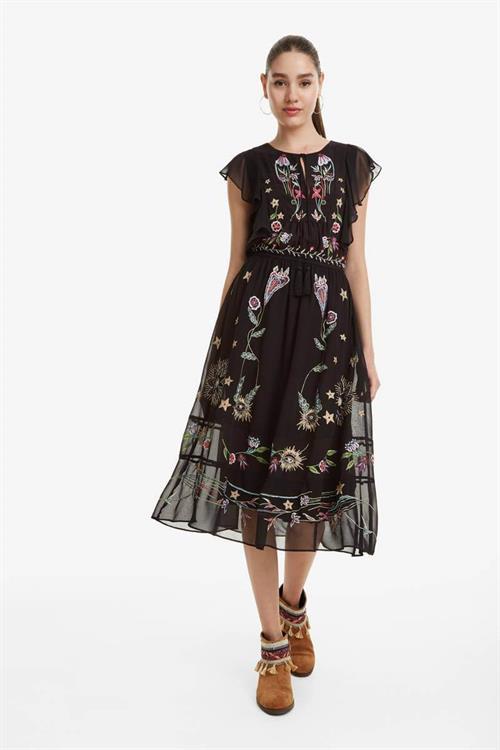 šaty Desigual Sandy negro