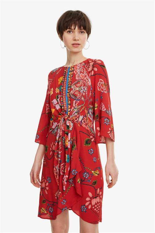 šaty Desigual Glen carmin