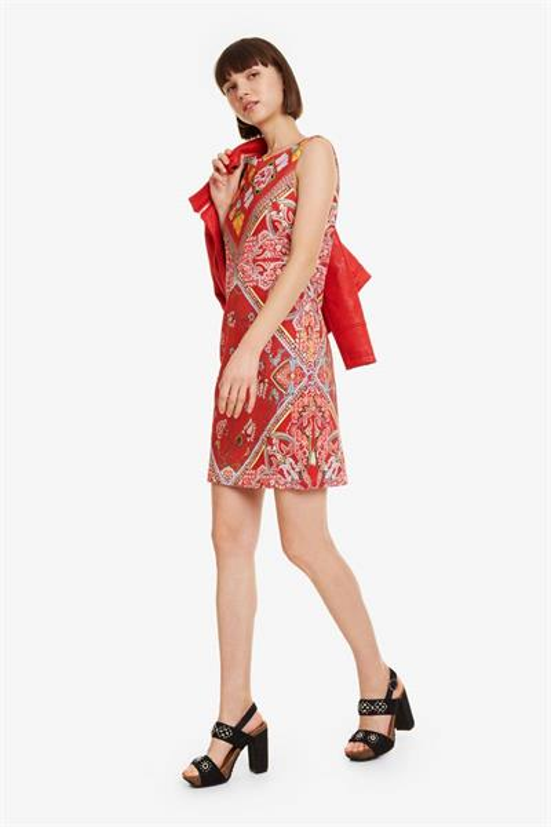 šaty Desigual Lisa carmin