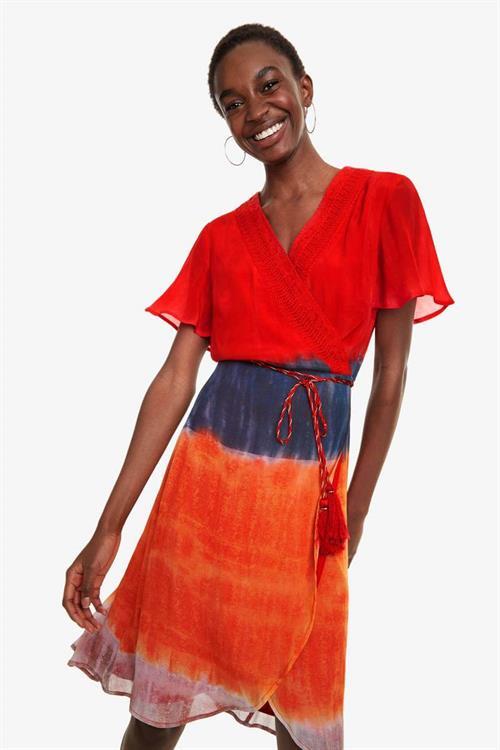 šaty Desigual Temis borgona