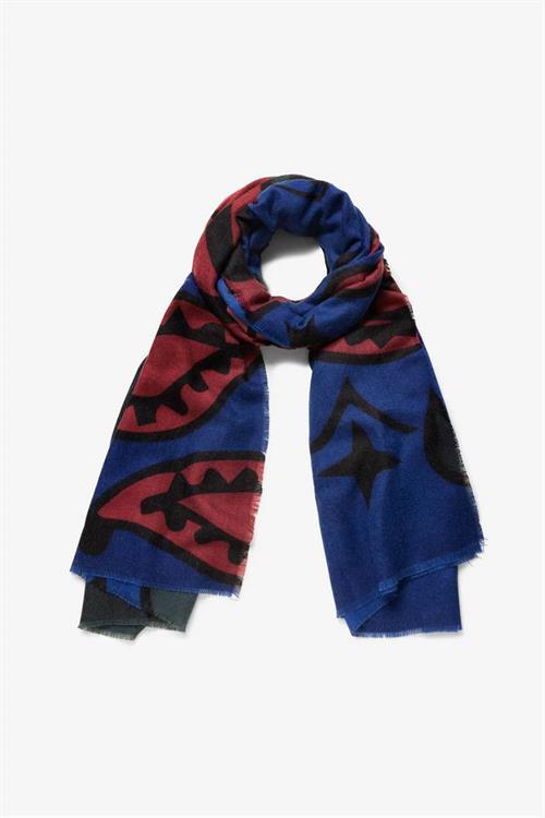 šátek Desigual Bandana medieval blue