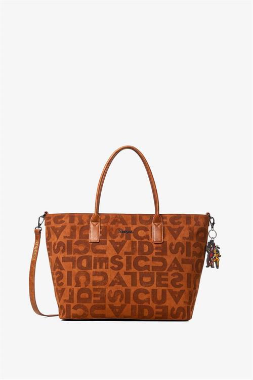 kabelka Desigual Brand Holbox marron