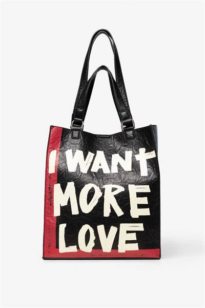 kabelka Desigual Arty Message Craft C negro