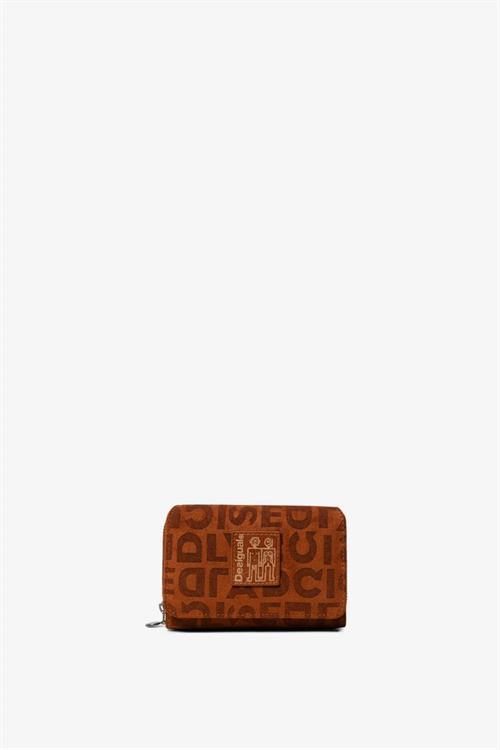 peňaženka Desigual Brand Maria Mini marron