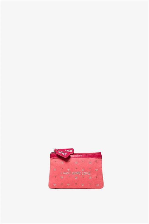 peňaženka Desigual Messages candy pink