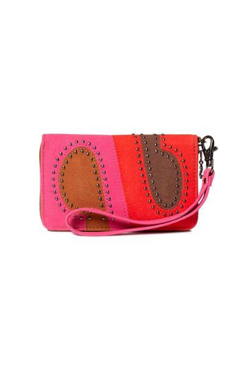 peňaženka Desigual S-Patch Mini Zi rojo loft