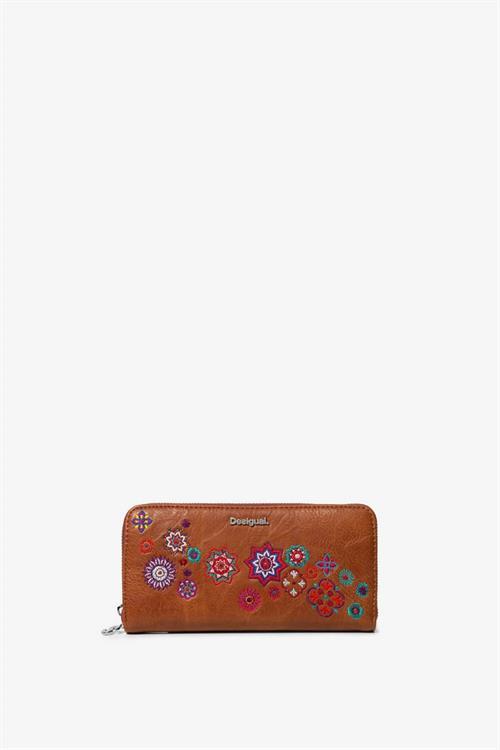 peňaženka Desigual Nanit Zip Around marron