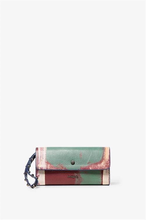peňaženka Desigual Love Kaos Revers berenjena